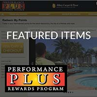 Performance Plus Featured Items