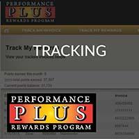 Performance Plus Tracking